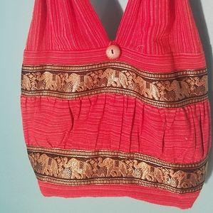 Women Red Hobo Bag